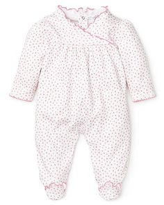 Kissy Kissy Infant Girls' Flower Print Footie - Sizes 0-9 Months - Infant Girl (0-24 months) - BABY - Kids - Bloomingdale's