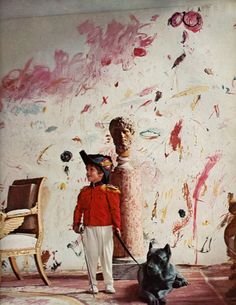 Cy Twombly's son Alessandro.