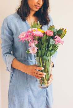 Easy Flower Arrangements From The Grocery Store | Lows to Luxe