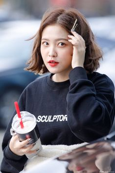 dedicated to female kpop idols. Seulgi, Kpop Girl Groups, Korean Girl Groups, Kpop Girls, Park Sooyoung, Girls Generation, Red Velvet イェリ, Kim Yerim, My Hairstyle