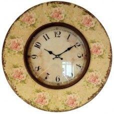 Boutique Des Fleur Large Wall Clock £42.99