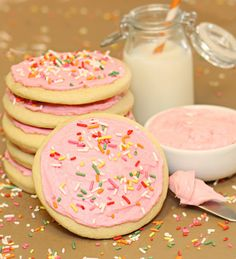 Have i found the recipe for the super soft surgar cookies?????? i hope so :) they are my favorite polka-dotted elephants: Soft Sugar Cookies