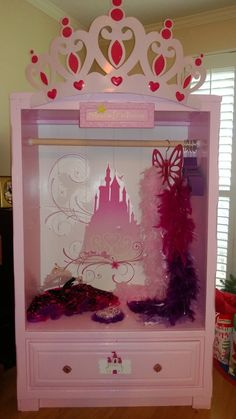 Princess dress-up closet