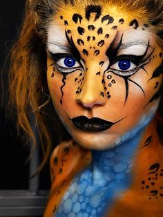 When you think about face painting designs, you probably think about simple kids face painting designs. Many people do not realize that face painting designs go beyond the basic and simple shapes that we see on small children.