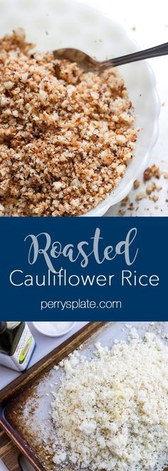 The best way to make cauliflower rice cauliflower rice recipe paleo recipes recipes Paleo Recipes, Low Carb Recipes, Real Food Recipes, Cooking Recipes, Yummy Food, Free Recipes, Yummy Snacks, Yummy Yummy, Delish
