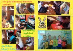 We've made rabbits by Dolyna School nr 6, Ukraine