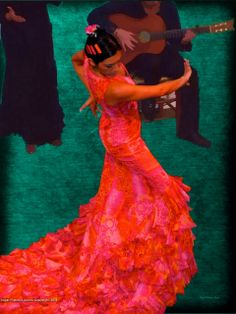 Spain has many cultural values. One of which is dancing, specifically the Flamenco Dance. Flamenco is a dance around 200 years old, with typically guitar music. We Are The World, People Around The World, Pub Radio, Spanish Culture, Lets Dance, Dance Art, Belle Photo, Lady In Red, Beautiful People