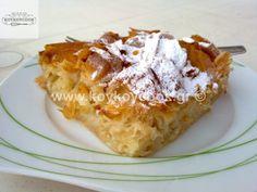 2411201634434-2 Greek Desserts, Greek Recipes, Cooking Cake, Cooking Recipes, Greek Cake, Baklava Recipe, Sweet Pie, Pastry Cake, How To Make Cake