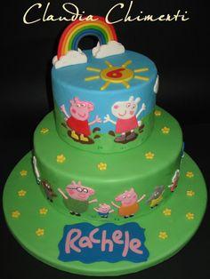 - Peppa Pig cake
