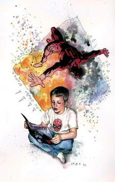 Daredevil by David Mack * - Lexi would love this!