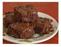 Quinoa Chocolate Chip Brownies