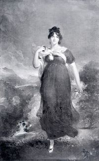 Elizabeth Conyngham (née Denison), Marchioness Conyngham (31 July 1769 – 11 October 1861), was an English courtier and noblewoman. She was the last mistress of George IV of the United Kingdom.[1]