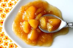 A Cup of Sugar … A Pinch of Salt » Butterscotch Peach Preserves with Vanilla Bean Paste