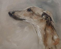 Sighthound - original painting