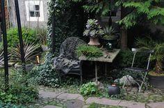 Stigs garden in Sweden