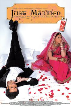 Marriage is often the culmination of a perfect romance. An arranged marriage however, is the beginning of an anticipated romance.  Just Married is a movie that starts where most others end. It is a film set amidst middle class India where romance and love start at the ultimate commitment-marriage. Never has a love story been so unlike any other!
