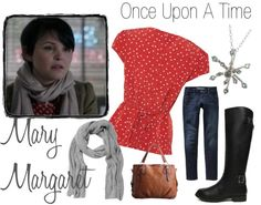 """""""Style inspiration - Mary Margaret #3"""" by onceuponanovel on Polyvore"""