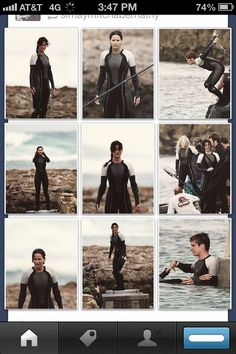 Catching Fire set photos  Agsphejdnend THE FEELS
