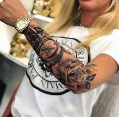 drozdovtattoo – foot tattoos for women Girly Tattoos, Dope Tattoos, Body Art Tattoos, Hand Tattoos, Tattoo Art, Girl Neck Tattoos, 100 Tattoo, Forarm Tattoos, Forearm Sleeve Tattoos