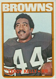 Leroy Kelly November 28, 1965 The Browns' Leroy Kelly set a club record for most punt return yards (109).