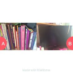 Books or tv Click here to vote @ http://getwishboneapp.com/share/2444271
