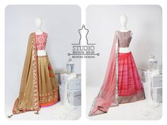 Contemporary Traditional Lehenga choli.
