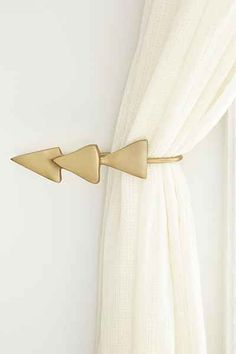 Magical Thinking Triple-Triangle Curtain Tie-Back - Urban Outfitters