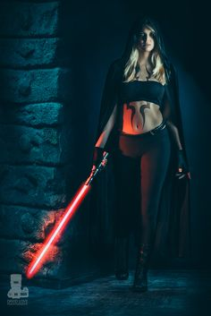 Zora, is Kylo's sith apprentice. She loves him as much as the dark side. She is fighting a battle against light and dark, one may be able to bring her back to the light.