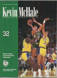 Kevin McHale Celtics Portrait of an Amiable Warrior 32 Collector's Edition 1994 #kevinmchale #bostonceltics #nba