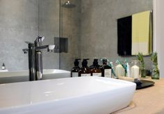 The Block: Bathrooms and Terrace