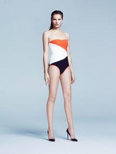 Roksanda Ilincic  SS 2013 swimwear