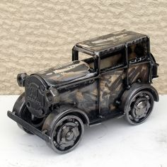 Handmade old metal car retro model sculpture Sculptures For Sale, Metal Sculptures, Car Lover Gifts, Modern Art Sculpture, French Sculptor, Metal Art Projects, Tate Gallery, Galleries In London, Museum Of Modern Art