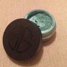 Studio Gear Loose Eyeshadow Color is Caribbean Sea very metallic and flashy! Studio Gear Makeup Eyeshadow