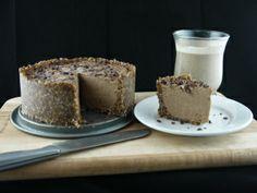 Deep Earth almond Butter Ice Cream Cake http://blog.vivapura.com/2013/10/17/deep-earth-almond-butter-ice-cream-cake/