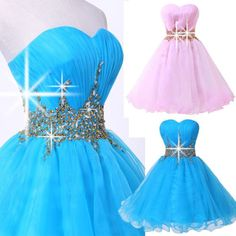 2014 New Homecoming Party Bridesmaid Evening Cocktail Prom Short Dress Size Prom Party Dresses, Ball Dresses, Homecoming Dresses, Ball Gowns, Short Dresses, Girls Dresses, Flower Girl Dresses, Bridesmaid Dresses, Grace Karin