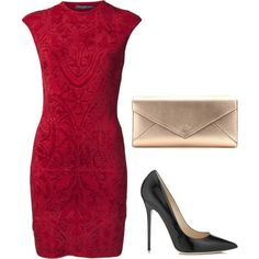 A fashion look from March 2014 featuring Alexander McQueen dresses, Jimmy Choo pumps and Smythson clutches. Browse and shop related looks.