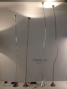 #papiroLED by #pallucco
