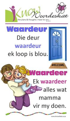 Kids Learning Activities, Teaching Resources, Teaching Ideas, Afrikaans Language, Afrikaanse Quotes, Alphabet For Kids, Education Quotes, Reading Comprehension, Phonics