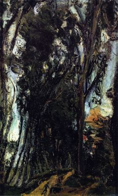 Chaim Soutine  Avenue of Trees at Chartres