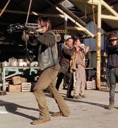 "Daryl, Rick & Carl;  Season 4  ""A"""