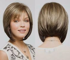 How to style a short angled bob