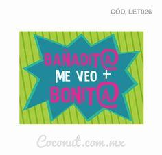 """Letrero para fiestas """"Bañadit@ me veo más bonit@"""" resistente al agua, encuéntralo en https://www.coconut.com.mx/collections/letreros-para-fiestas y obtén tu envío gratis a partir de $500 en la república mexicana Síguenos en Facebook https://www.facebook.com/coconutstoremx/"""