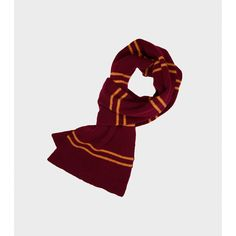 Gryffindor Scarf ($48) ❤ liked on Polyvore featuring accessories, scarves, harry potter, gold scarves and gold shawl