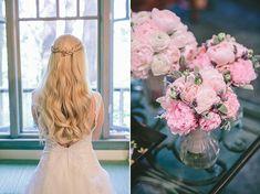 Νυφικό χτένισμα για μακριά μαλλιά. See Full Post   Photography by GEORGE PAHOUNTIS PHOTOGRAPHY