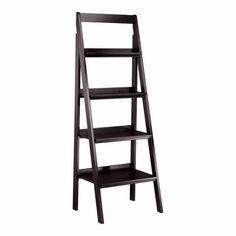 Simple, light, and airy. With four graduated shelves, this multi-tiered display unit fits neatly in any room. Ideal for displaying collections or stacked books, Platt