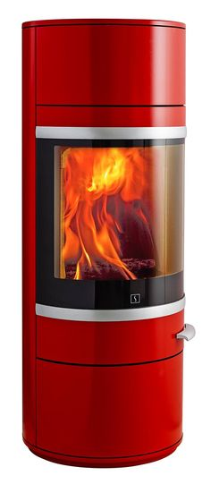New Scan Stove in Red  - Wendron Stoves