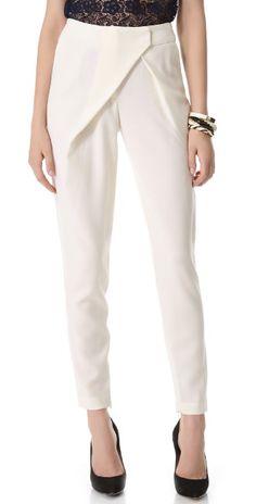 Nicholas Tailored Wrap Pants | SHOPBOP