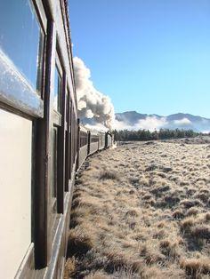 El Viejo Expresso Patagônico - Esquel - Patagônia Argentina