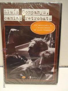 LLUÍS COMPANYS, CAMINS RETROBATS. 65 ANIV. AFUSELLAMENT. DVD / VERNAL MEDIA - 2005. PRECINTADO.