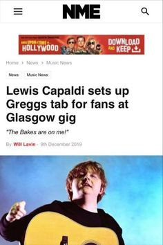 Lewis Capaldi Afterparty, Greggs @ Panoptic Events Greggs, Glasgow, New Music, Hollywood, Events, Memes, Meme